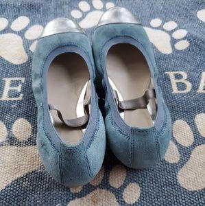 Kids Clarks Original Cap Toe Ballet Shoes